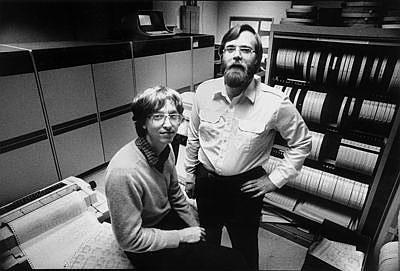 Paul Allen és Bill Gates 1981-ben