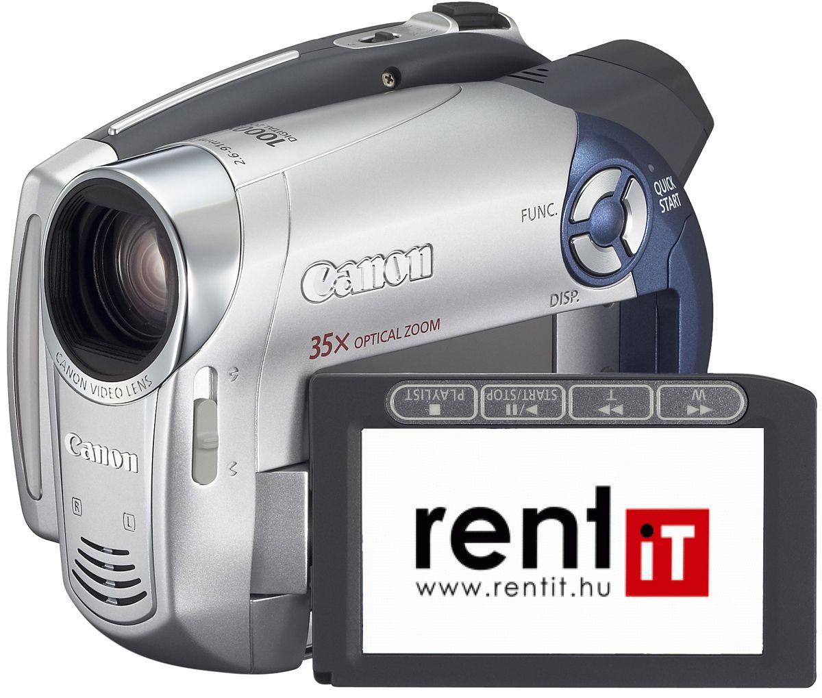 Canon DC220 DVD-RW videokamera bérlés, bérbeadás