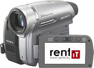 Sony DCR-HC94E miniDV videokamera bérlés, bérbeadás
