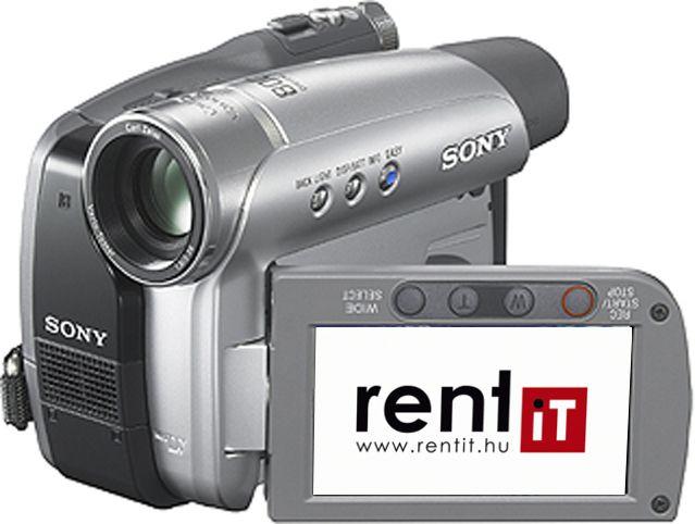 Sony DCR-HC46E miniDV videokamera bérlés, bérbeadás