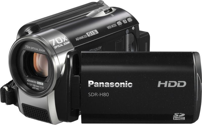 Panasonic SDR-HD80EP9-K HDD-s videokamera bérlés, bérbeadás