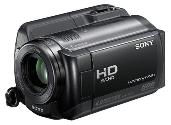 Sony HDR-XR105E FULL HD, merevlemezes videokamera bérlés, bérbeadás