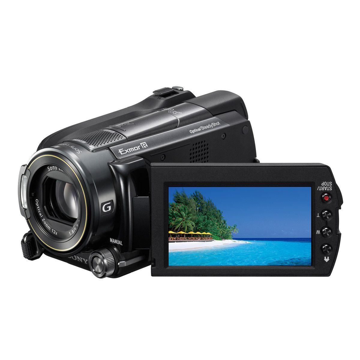 Sony HDR-XR500VE FULL HD, merevlemezes videokamera bérlés, bérbeadás