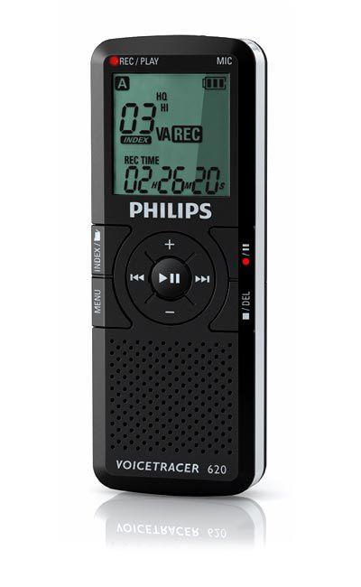 Philips Voice Tracer 620 diktafon bérlés, bérbeadás 1 napra