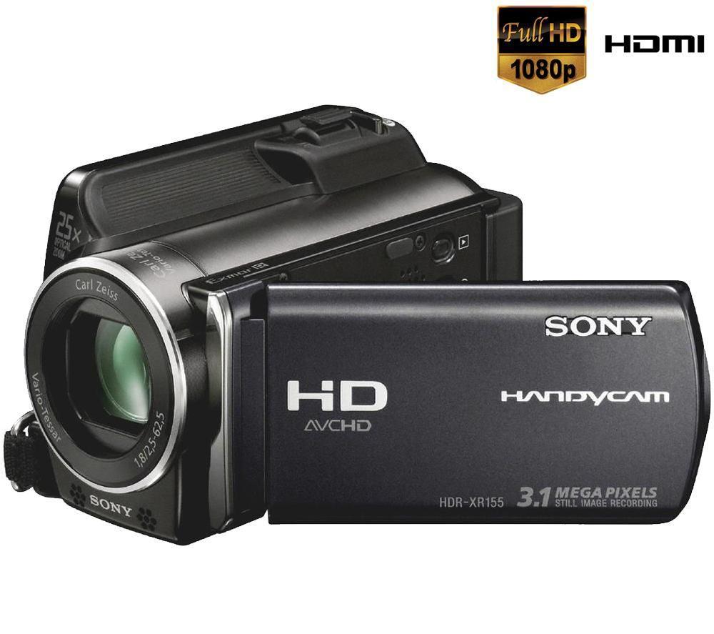 Sony HDR-XR155E FULL HD, merevlemezes videokamera bérlés, bérbeadás