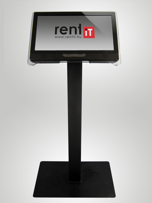 22col érintőképernyős számítógép + kioszk állvány bérlés, bérbeadás 1 napra