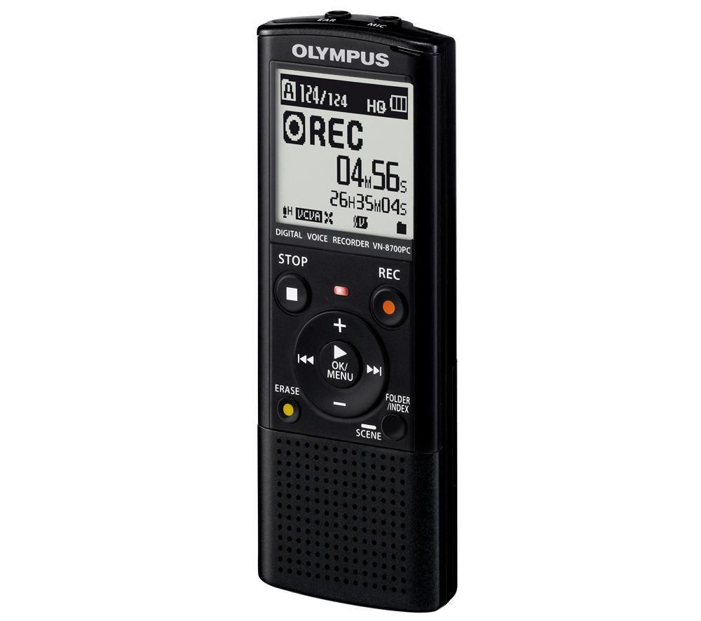 Olympus VN-8700PC diktafon bérlés, bérbeadás 1 napra