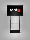 S Design I. - padló TV állvány bérlés, bérbeadás