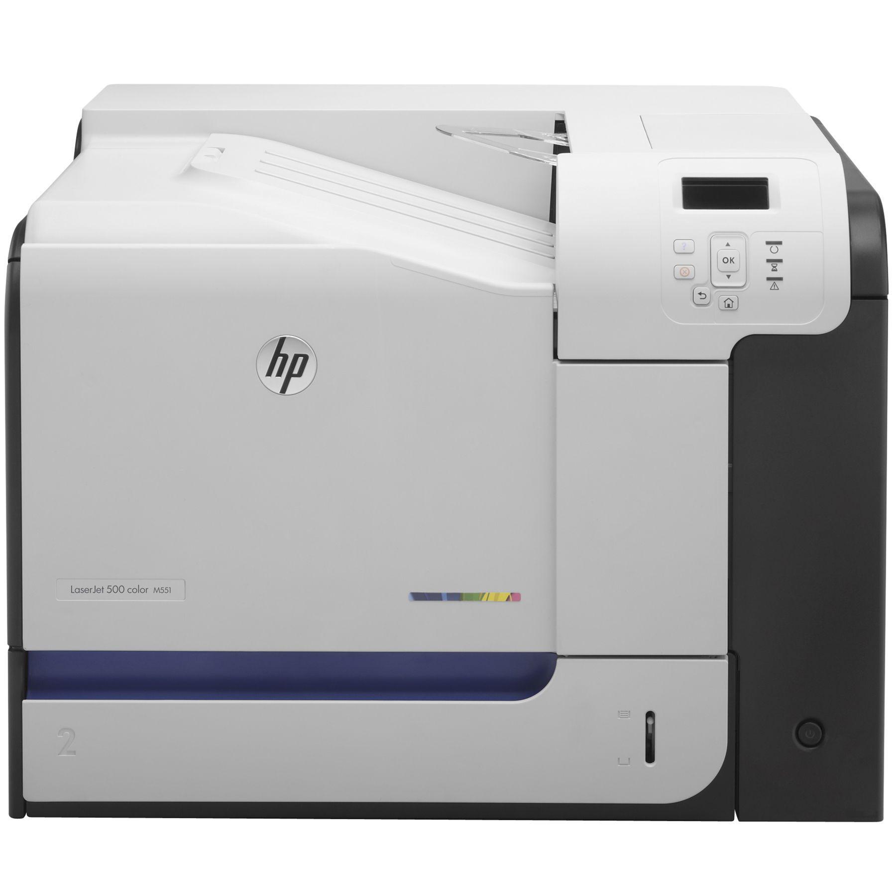 HP LaserJet Enterprise 500 color Printer M551dn (CF082A) színes nagy teljesítményű lézernyomtató bérlés, bérbeadás 1 napra