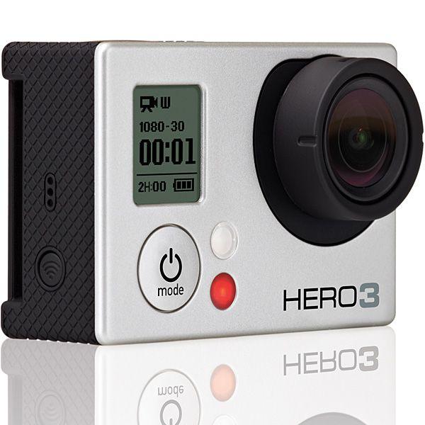 Go Pro Hero 3 Silver Edition kamera bérlés, bérbeadás 1 napra