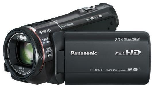 Panasonic HC-X920 3MOS Full HD memóriakártyás videokamera bérlés, bérbeadás