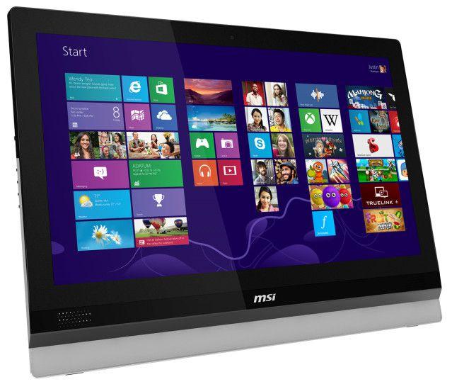 MSI Adora24 All-In-One érintőképernyős számítógép bérlés, bérbeadás